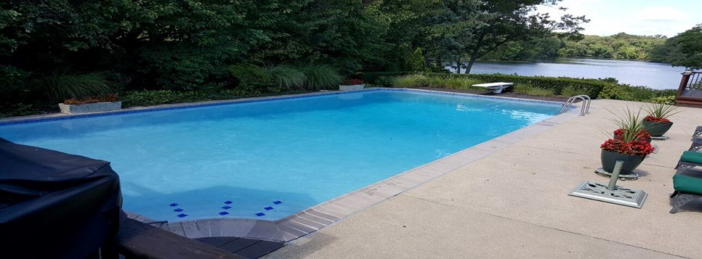 Lebanon - Concrete pool renovation, tile installation, coping installation, coping replacement, diamond brite plaster installation