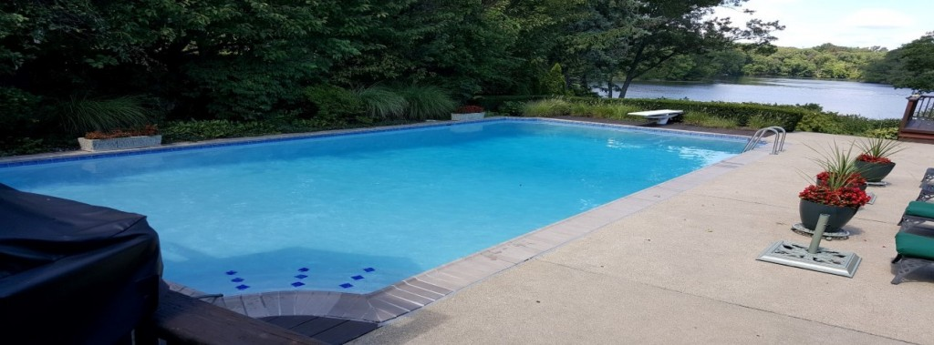 slide (30) - concrete pool renovation, tile installation, coping installation, coping replacement, diamond brite plaster installation