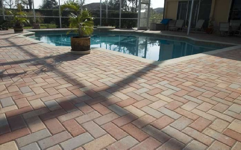 Traverten Pavers Kool Deck And All Masonary Work In Colts