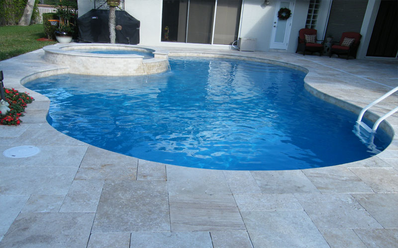 Concrete Pavers Blue Dream Pools Montgomery Nj