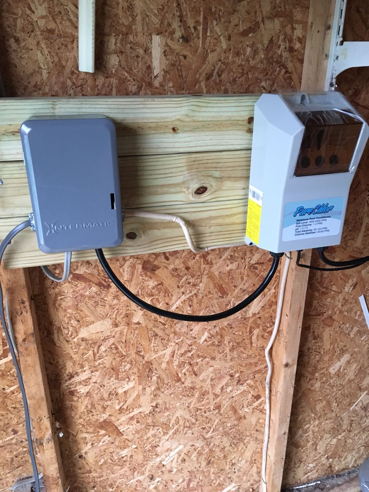 Electric Services Blue Dream Pool Wiring Pump Outlet